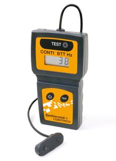 Belt Tension Tester Hz von ContiTech misst Frequenz nach Hertz