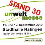 Am 11./12.09.2010 ist es soweit - Umweltmesse in Ratingen - Das IB ist dabei