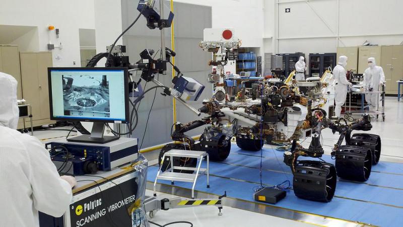 Messtechnik-Spezialisten aus Waldbronn helfen NASA bei Entwicklung von  Curiosity