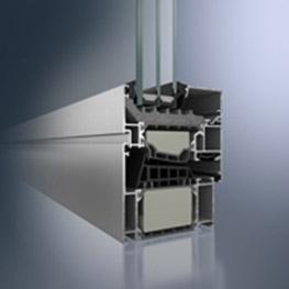 Nachhaltige Aluminiumfenster und -fassaden von Schüco