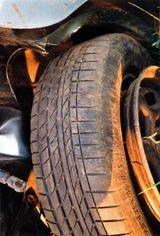 Alte Reifen sind ein Sicherheitsrisiko
