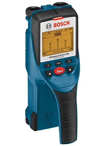 Präzise Ortung mit dem Wallscanner D-tect 150 Professional von Bosch