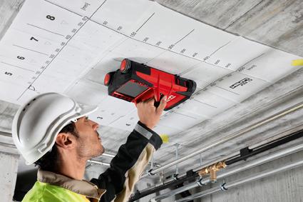 bauma: Detektions-System PS 1000 von Hilti