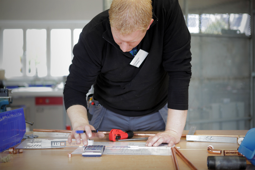 Rothenberger Meisterpreis traten SHK-Jungmeister gegeneinander an
