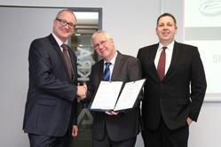 Zusammenarbeit mit deutscher Eisenbahn-Zertifizierungsstelle
