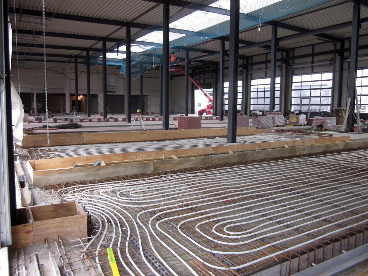 Bremer Nutzfahrzeugzentrum mit optimaler thermischer Behaglichkeit