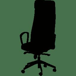 Bürostuhl fährt alleine runter