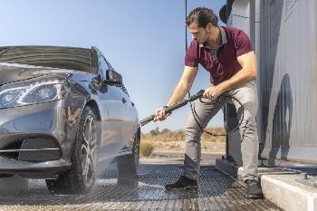 Hochdruckreiniger bei richtiger Anwendung keine Gefahr für Reifen